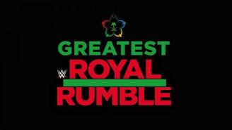 At Least One Of The Greatest Royal Rumble Entrants Will Be A Complete Unknown