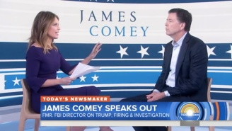 Savannah Guthrie Grills James Comey Over Why He Didn't Stand Up To Trump When He Had A Chance