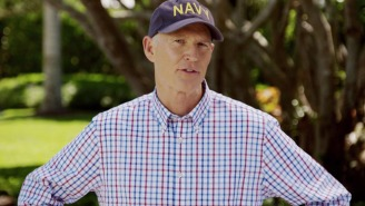 Florida Governor Rick Scott Announces His Senate Run, So He Can 'Shake Things Up' In D.C.