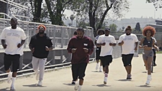 Watch Kendrick Lamar, SZA, And The Top Dawg Crew Hilariously Train For Their Upcoming Championship Tour