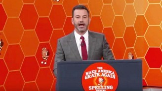 Jimmy Kimmel Tests Kids To See If They Can Spell As Poorly As President Trump