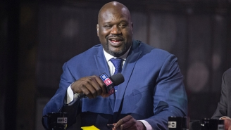 Watch Shaq Dance To 'Thotiana' In The NBA On TNT Green Room