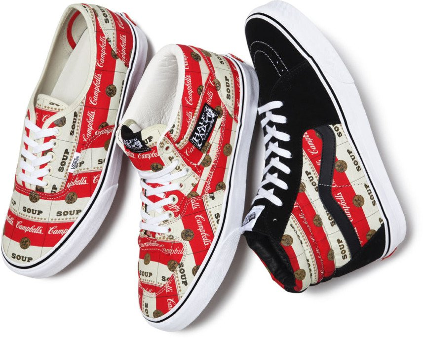 Supreme x Vans x The Campbell's