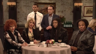 Chadwick Boseman Sings Jazzy Putdowns Of Restaurant Service In This Supremely Silly 'SNL' Sketch