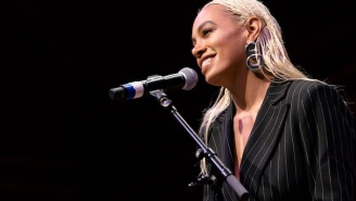 Solange Unveiled A Gorgeous Piece Of Performance Art In Los Angeles Over The Weekend