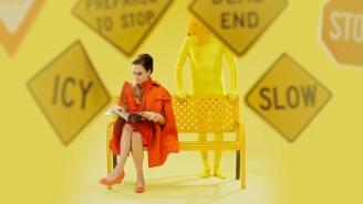Speedy Ortiz's 'Villain' Video Cleverly Uses Color To Show How Visible (Or Not) Harassment Can Be