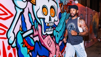 How One Man Is Connecting LA's Communities Through Running And Art