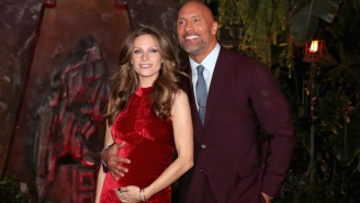 The Rock Shared An Adorable First Picture Of His Newborn Daughter