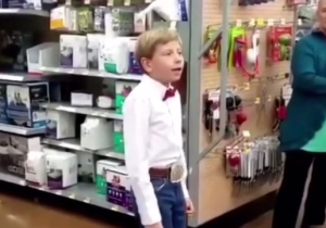 The Yodeling Wal-Mart Kid Seriously Performed Onstage At Coachella