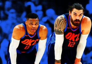 Russell Westbrook And Steven Adams Might Have A Telepathic Bond