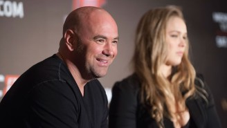 Dana White Is Going To WrestleMania Decked Out In Ronda Rousey Gear