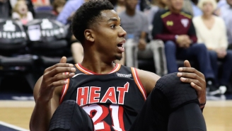 Hassan Whiteside Appears To Call Out The Heat For Not Letting Him Shoot Threes