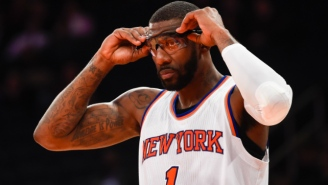 Amar'e Stoudemire Says He's Training With The Hopes Of Returning To The NBA