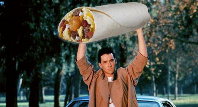 Perfect Breakfast Burrito