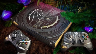 Only Five Of These Super-Limited Edition 'Black Panther' Xbox Ones Have Been Made