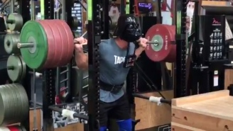John Cena Celebrated May The 4th By Doing Squats In A Darth Vader Mask