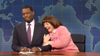 Melissa McCarthy Comes Back To 'SNL' To Invade Weekend Update For Mother's Day