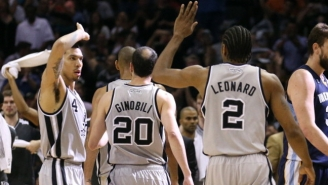 Danny Green Says Kawhi Leonard Told Him He Wants To Stay With The Spurs