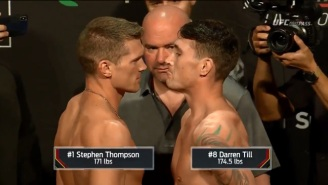 UFC Liverpool's Main Event Is In Jeopardy After Darren Till Missed Weight By 3.5 Pounds