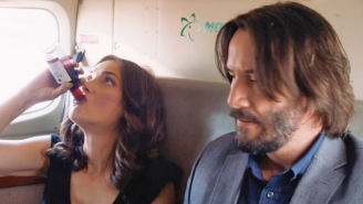 Keanu Reeves And Winona Ryder Loathe Each Other To Perfection In The 'Destination Wedding' Trailer