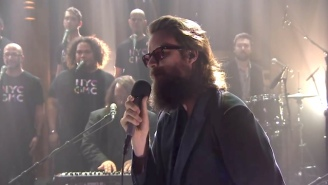 Father John Misty Recruits The NYC Gay Men's Chorus For His 'Tonight Show' Performance Of 'Mr. Tillman'