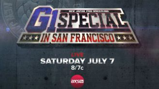 Here's How You Can Watch NJPW's G1 Special In San Francisco Live On TV