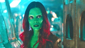 'Guardians Of The Galaxy Vol. 3's Zoe Saldana Is 'Proud Of Disney' For Rehiring James Gunn