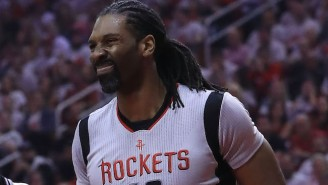 Nene Pushed A Utah Fan That Was Heckling James Harden