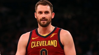 J.R. Smith Believes Criticisms Of Kevin Love Are Because Of 'Chris Bosh Syndrome'