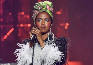 Lauryn Hill Remixed Drake's 'Ex-Factor'-Sampling New Single 'Nice For What' At The Apollo