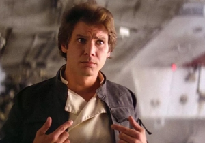 Harrison Ford Gives Alden Ehrenreich A Hard Time Over 'Solo' During A 'Star Wars' Press Event