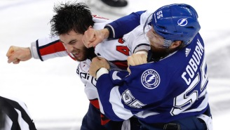 Tom Wilson And Braydon Coburn Had An Incredible Fight In Game 7 Of Capitals-Lightning