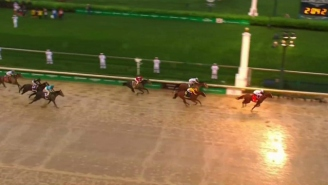 Justify Won The 2018 Kentucky Derby On A Muddy Day At Churchill Downs