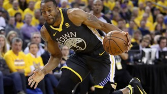 Andre Iguodala Is Returning To The Warriors Lineup For Game 3 Of The NBA Finals