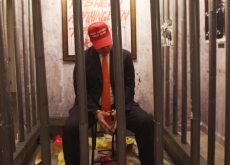 Guerrilla Artists Transform Trump Hotel Suite Into Anti-Trump Exhibit
