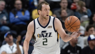 The Jazz Stole Homecourt Advantage On A Hot Shooting Night From Joe Ingles In Houston