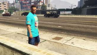 John Cena Is Terrorizing The Citizens Of Los Santos In A Bizarre 'Grand Theft Auto V' Mashup
