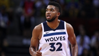 Karl-Anthony Towns Is Questionable To Play On Friday After Getting In A Car Accident