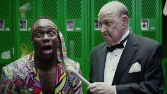Watch Kevin Hart Tell Mean Gene Okerlund Something About Mountain Dew Kickstart