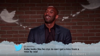 The Latest NBA Mean Tweets Includes Kobe Bryant Singing Seal's 'Kiss From A Rose'