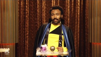 Donald Glover Makes His Lando Debut To Comment On The Lack Of Black People In 'Star Wars' On 'SNL'