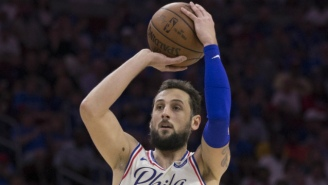 Marco Belinelli Forced Overtime In Sixers-Celtics Game 3 With A Jumper As Time Expired