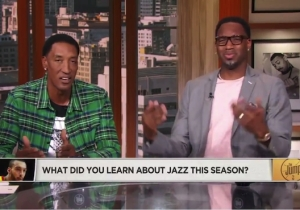 Tracy McGrady Got Very Mad About Rudy Gobert Not Being Able To Score On Point Guards