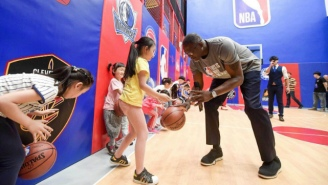 Dominique Wilkins Discusses His Trip To China For The Jr. NBA World Championship Regional Finals