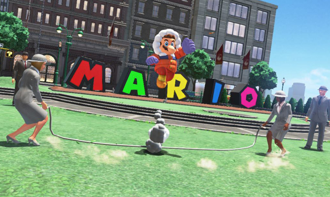 The Frustrating 'Super Mario Odyssey' Jump Rope Mission Is