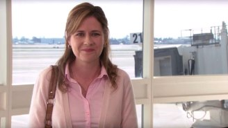 Jenna Fischer Finally Revealed What Pam Said To Michael At The Airport On 'The Office'