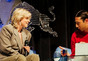 Reclusive Swedish Pop Star Robyn Shared Wisdom In A Deeply Personal Lecture