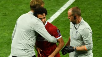 Mohamed Salah's Champions League Final Came To An Abrupt End Due To An Apparent Shoulder Injury