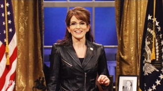 Tina Fey Makes A Triumphant Return As Sarah Palin For The 'SNL' Finale