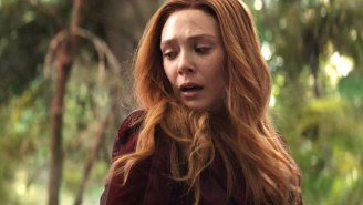 Elizabeth Olsen Has Issues With Her Scarlet Witch Costume Showing So Much Cleavage